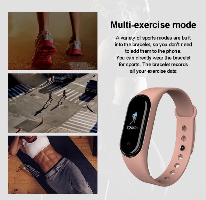 Fitness náramek MXM M5